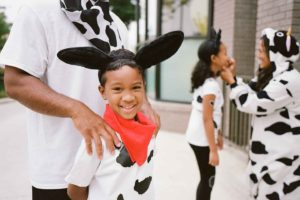 Customers are invited to dress like their favorites bovines, eat free and celebrate the cows