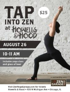 Tap into Zen at Howells & Hood