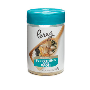 Introducing Everything But The Bagel Spice Mix from Pereg Natural Foods