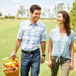 Full-time farm directors Tripp Eldridge and Carmen Franz