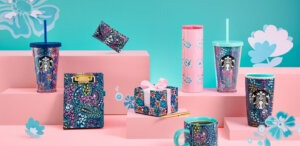 Starbucks kicks off summer in Asia with exclusive merchandise collection: Starbucks X Vera Bradley