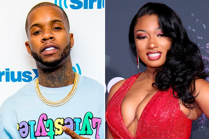 Megan Thee Stallion and Tory Lanez