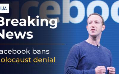 Press Release: CIJA and CJHSD Welcome Facebook Decision to Ban Holocaust Denial