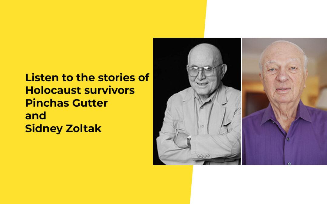 Holocaust Survivors Share Their Stories
