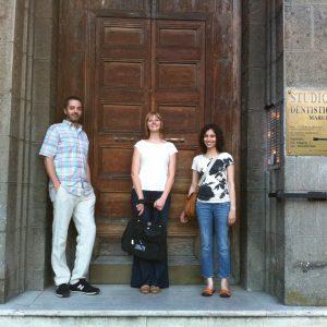 Camron Bryant, Clarissa, Margaret - Rome 2011