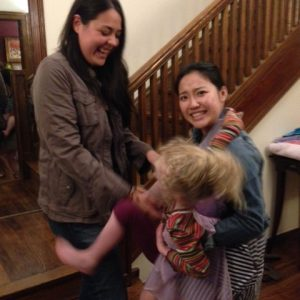 Camila, Emily & Ariela! (Palmer Lab Summer 2014 Party)