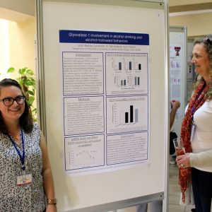 Dr. Amanda Barkley-Levenson presented a poster at IBANGS 2017