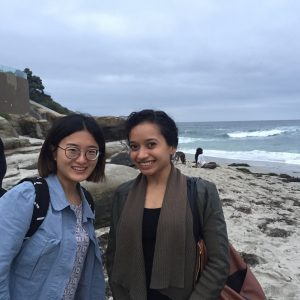Xinxin & Apurva -- Lab party, May 2017