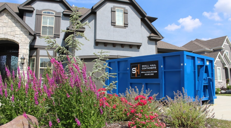 Why Kansas City Landscaping Companies Should Rent a Dumpster