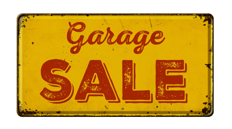 How to Use a Dumpster Rental at Your Neighborhood Garage Sale