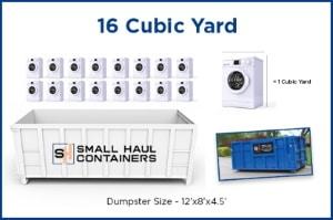 16 Cubic Yard Dumpster