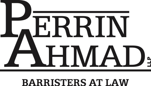 Perrin Ahmad LLP Logo Design, website design