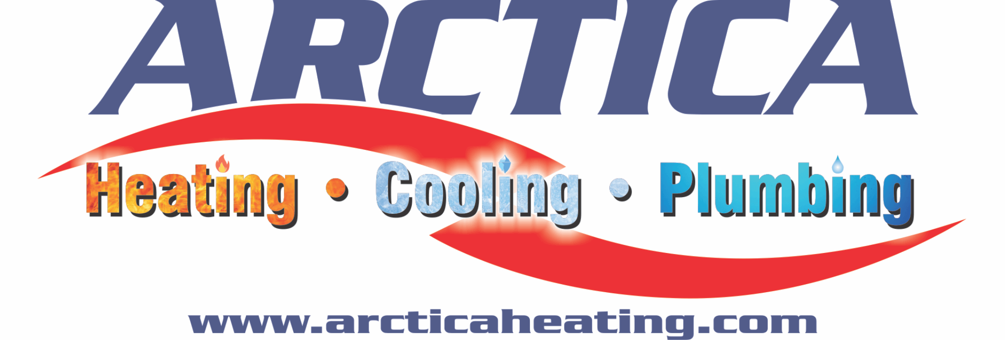 Arctica Heating and Cooling Logo Design, website design, Branding, Marketing, Website Maintenance and Hosting