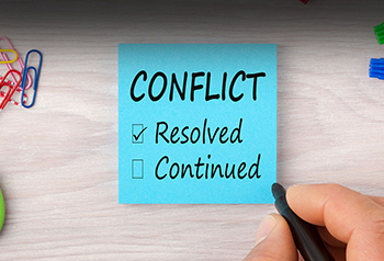 8 steps for conflict resolution