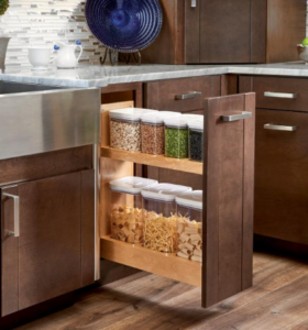 Base Cabinet Pullout w/ Containers