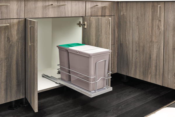 Sink Base Waste Containers Pullout