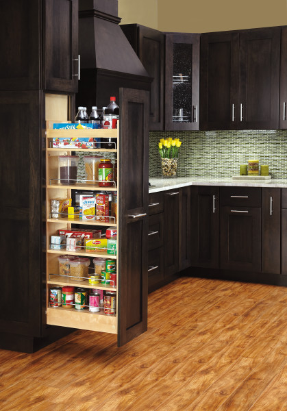 Wood Pantry Pullout