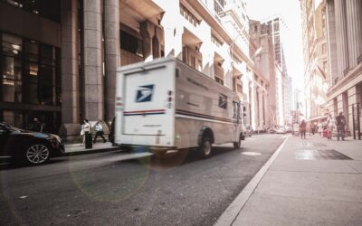 Who Is at Fault in an Accident Including a Parcel Delivery Truck?