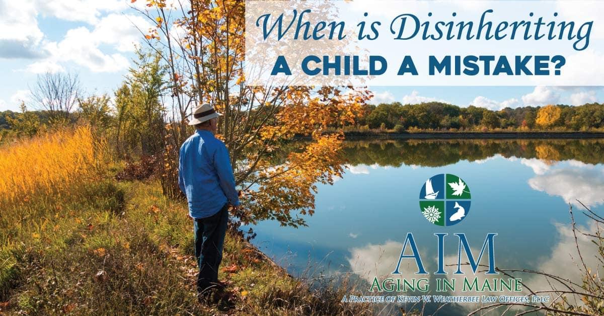 Disinheriting a Child