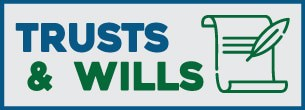 trusts and wills button