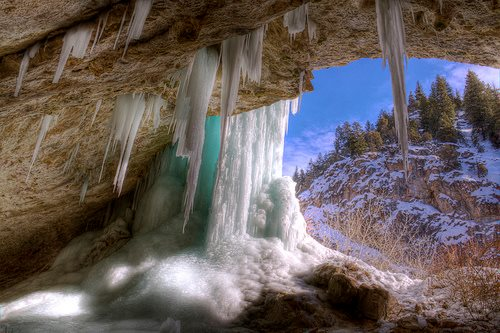 Rifle Ice Caves