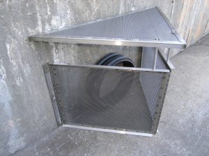 connector pipe screen