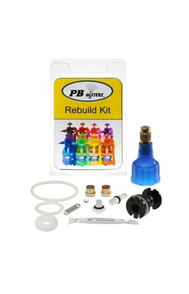 Rebuild Kit for Pressure Relief Misters- Blue