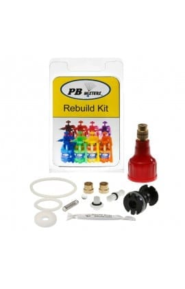 Rebuild Kit for Pressure Relief Misters- Red