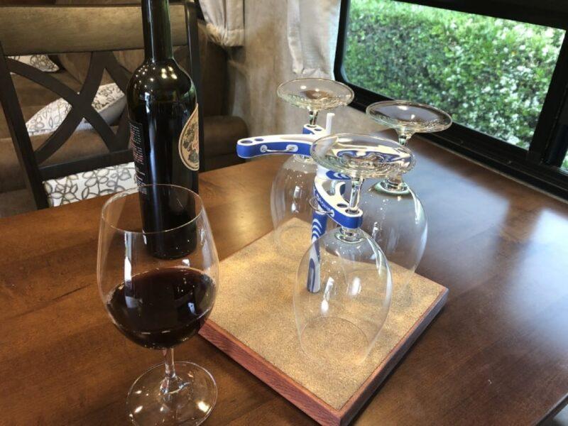 Wine Glass Caddy by Morgan Imports LLC