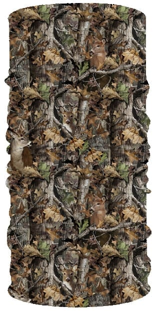 Woodland Camo Face Tube FT-475
