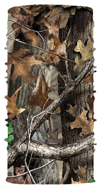 Woodland Camo Face Tube FT-477