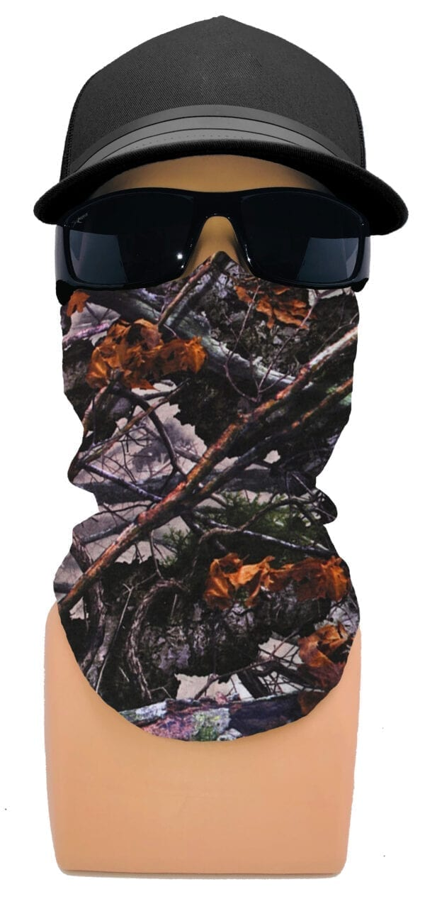 Woodland Camo Face Tube FT-5646