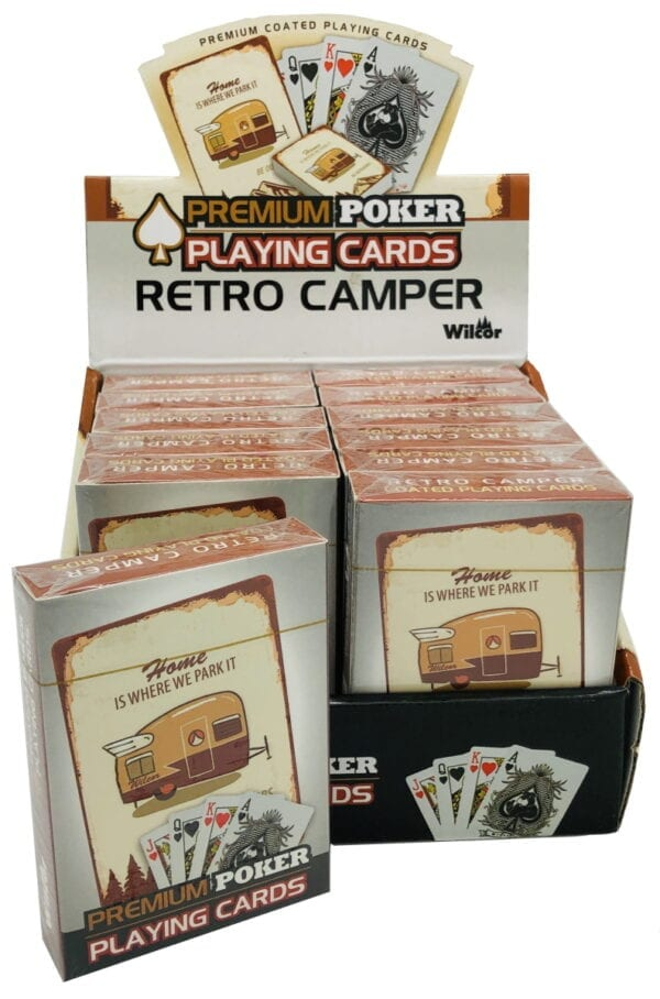 Retro Camper Playing Cards