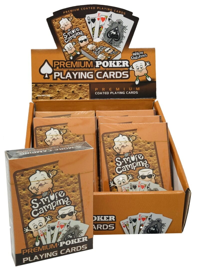 Smore Camping Playing Cards