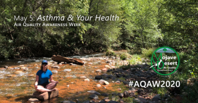 Day 2 of #AQAW2020 is focused on asthma and your health. Air pollution is a significant trigger for those who suffer from asthma.