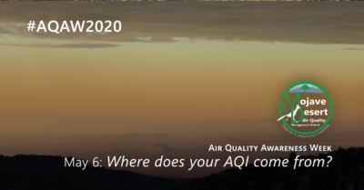 """May 6's #AQAW2020 theme is """"Where does your AQI come from?"""" We learn about the Air Quality Index and how it's calculated."""