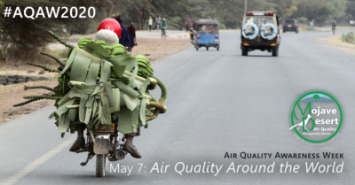 #AQAW Day 4 takes us on a journey around the world, studying the effect air pollution has on global air quality.