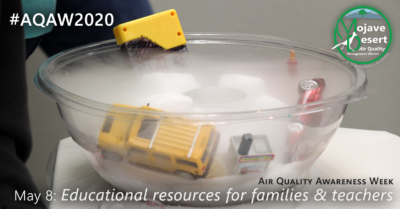 Air Quality Awareness Week 2020 wraps up with numerous educational resources for educators and families.