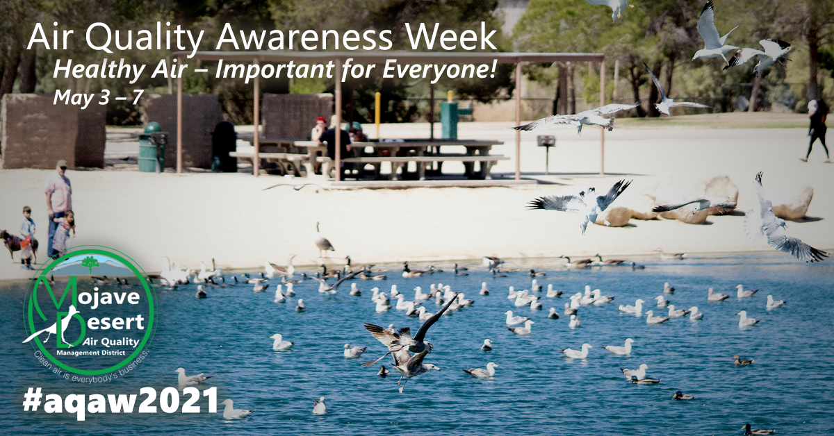 "The 2021 theme for Air Quality Awareness Week is, ""Healthy Air — Important for Everyone!"""