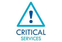 Critical Services logo - Aeronet Worldwide