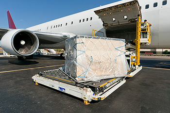 Import and export air freight services