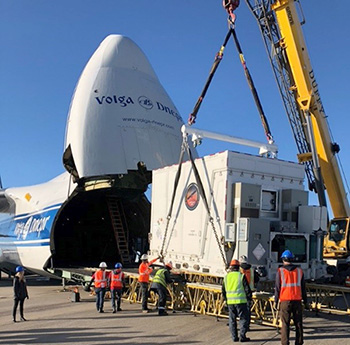 Case study of global aerospace aviation logistics and project cargo services for the UAE's Hope Mars probe