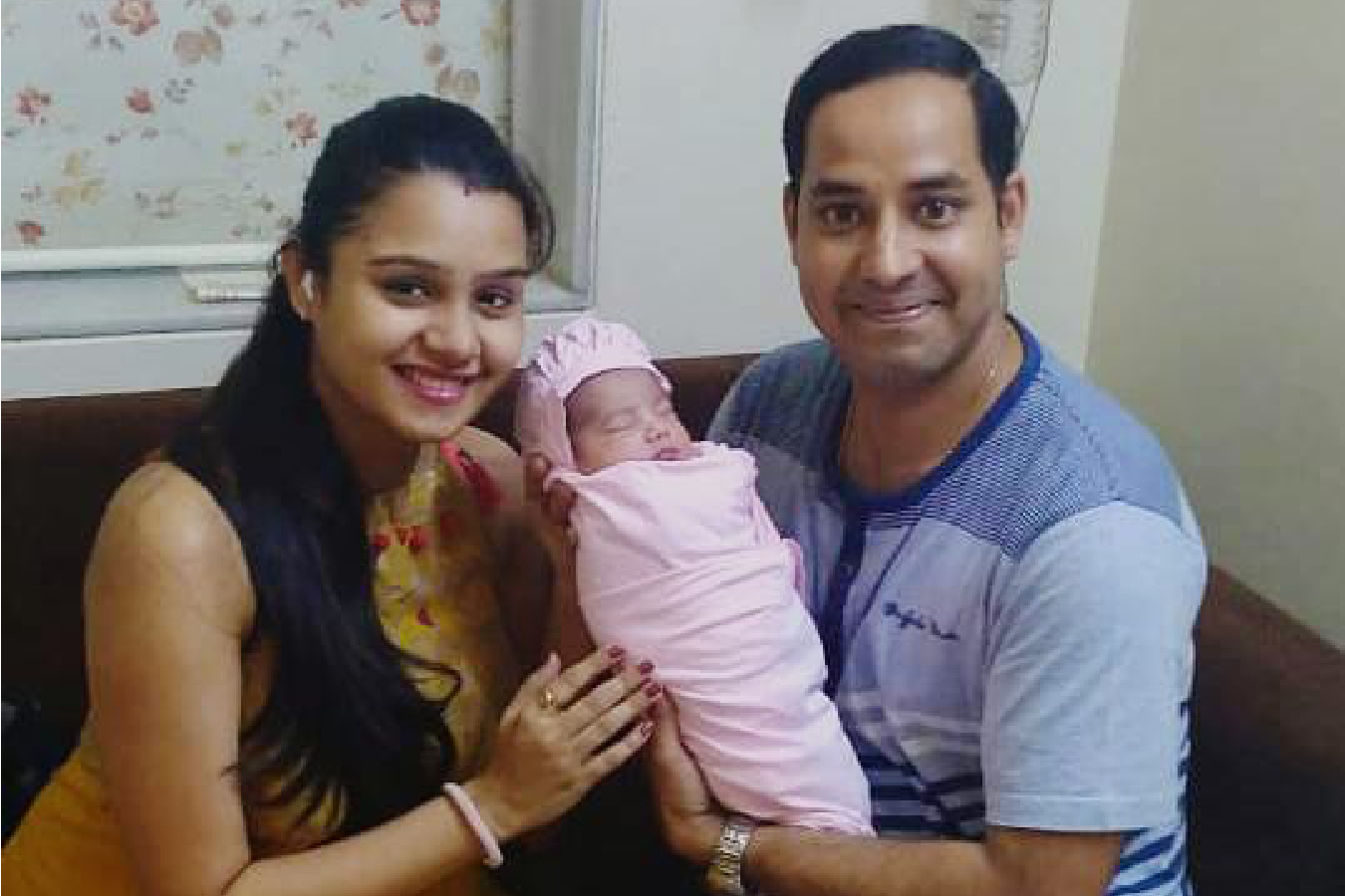 Client Anu & Surendra with their Baby