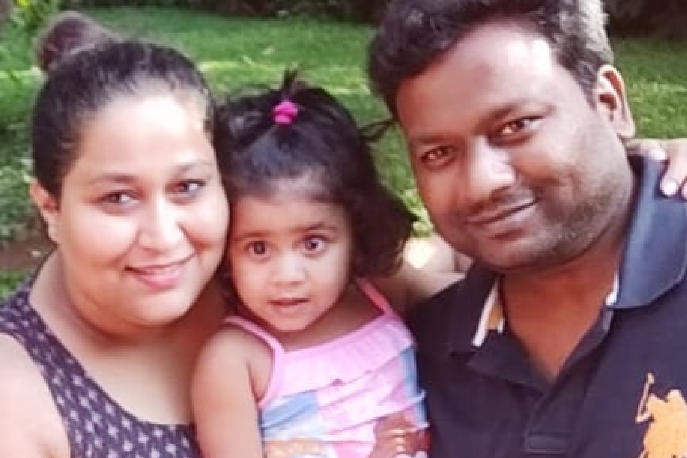 Client Smita & Milind with their Baby