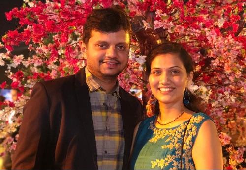 Our Client- Shweta & Viraj