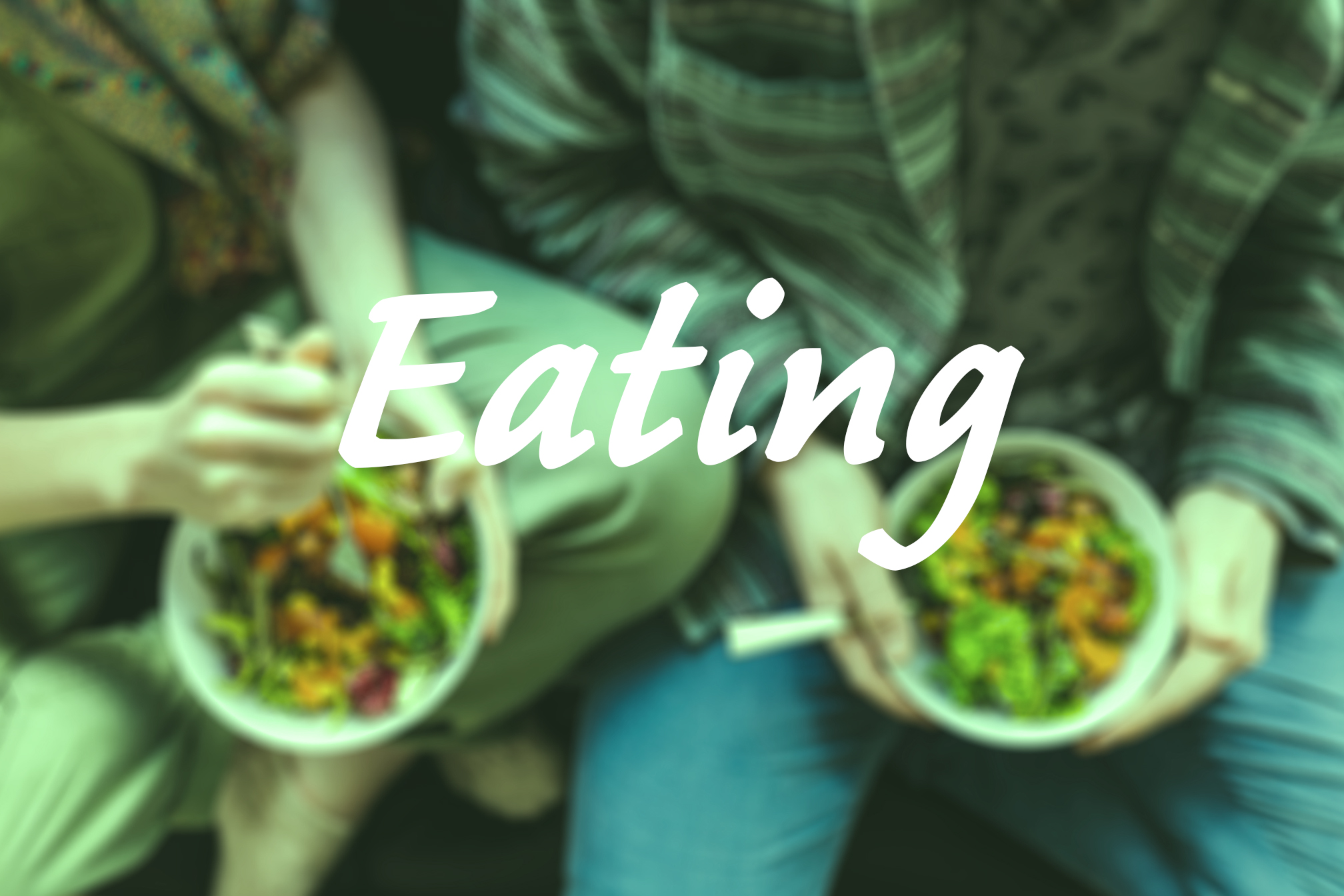 Image with Text Eating