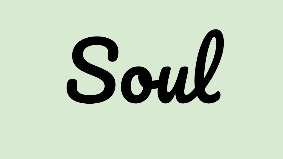 Image with Text Soul