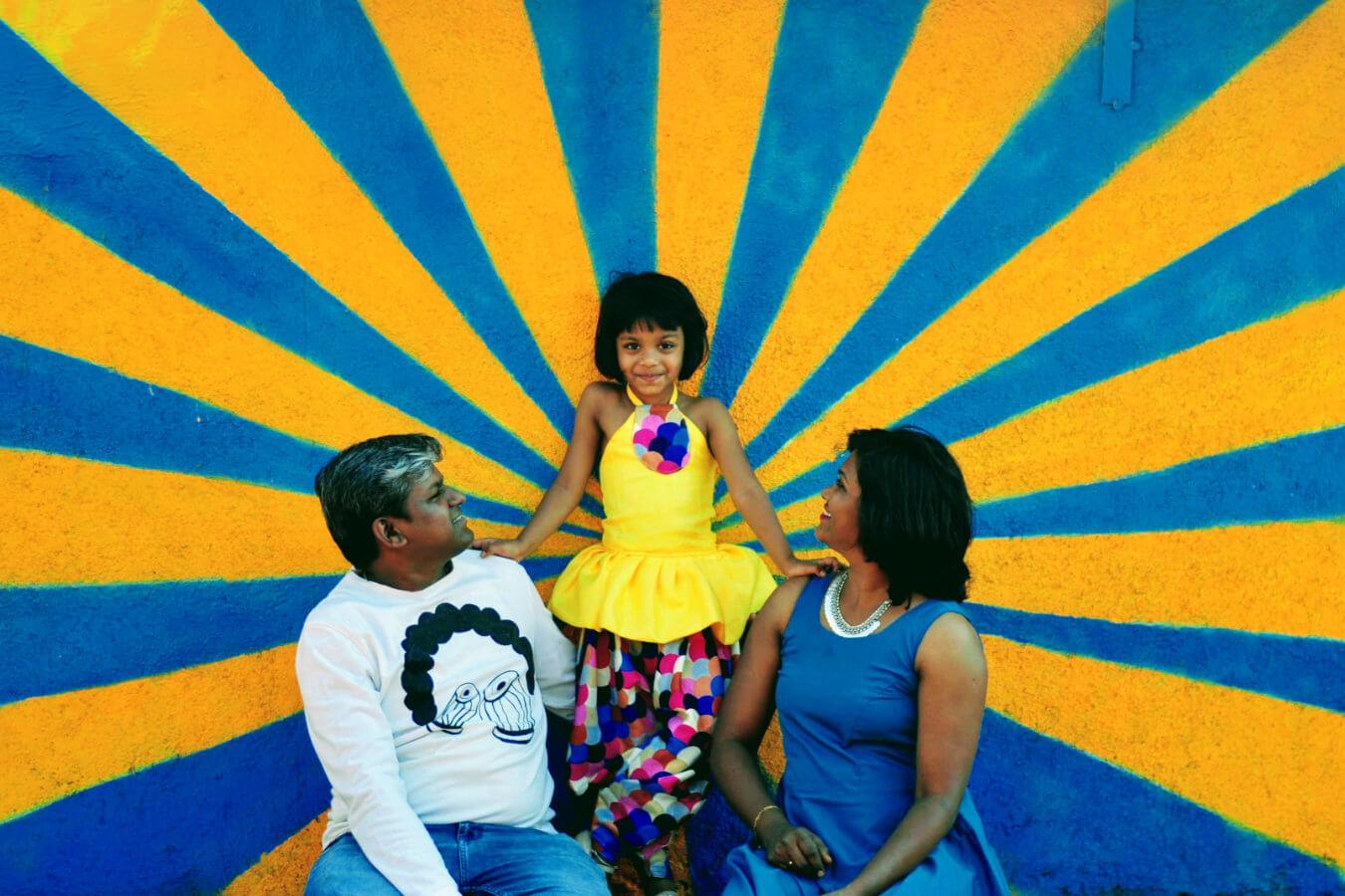 Client Nikhil & Swati with their Child