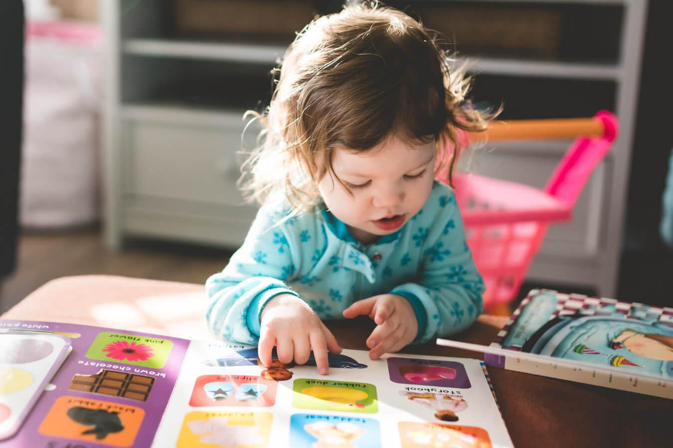 Small Baby Reading Montessori Book