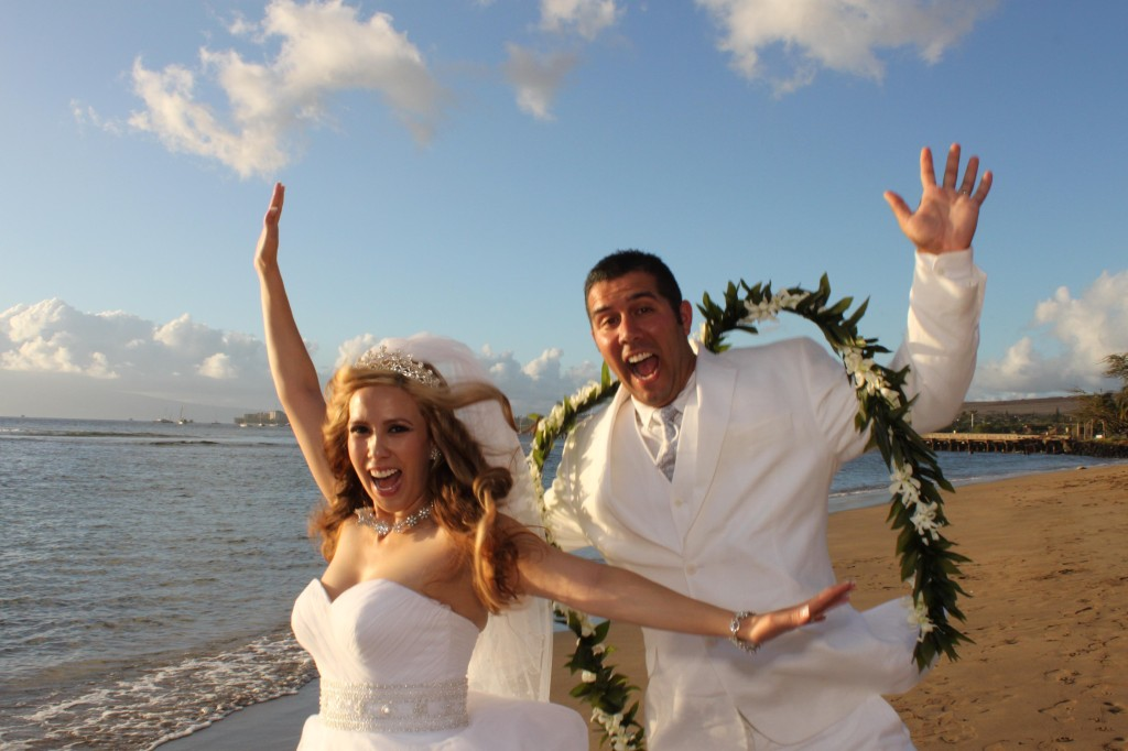 Mia and Brandon Married on Maui